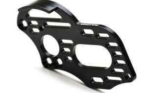 ExoTek TLR 22 4.0 Flite Motor Plate With Spur Guard