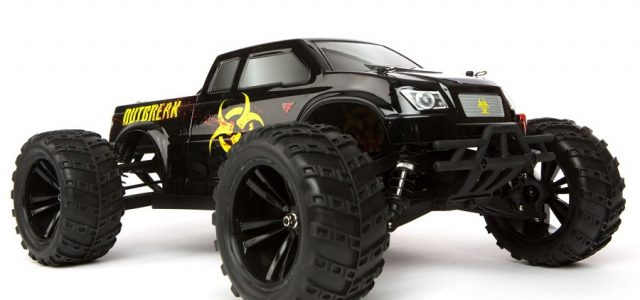 force rc rtr 1 10 outbreak 4wd monster truck rc car action. Black Bedroom Furniture Sets. Home Design Ideas