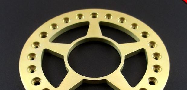 Locked Up Tarantula 2.2″ Golden Chromate Beadlock Rings