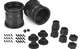 JConcepts Midwest 2.2″ Monster Truck 12mm Hex Wheels & Adapters