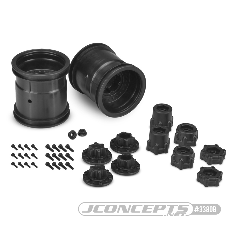 Midwest 2.2 Monster Truck 12mm Hex Wheels & Adapters From JConcepts