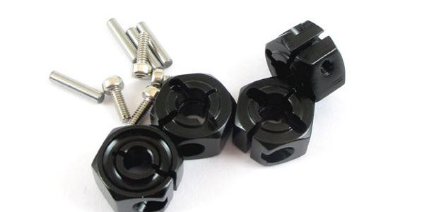 Locked Up RC 12mm x 7mm Wide Hex Hubs