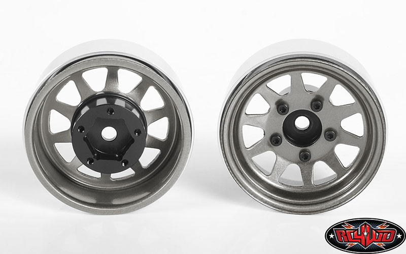 Rc4wd Oem Stamped Steel 1 55 Quot Beadlock Wheels Rc Car Action
