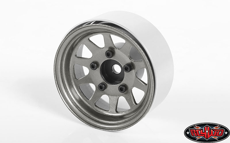 OEM Stamped Steel 1.55 Beadlock Wheels From RC4WD