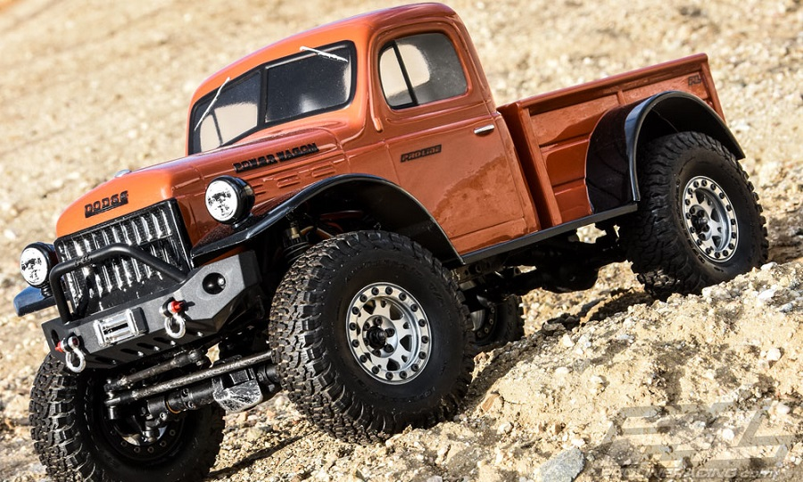 Pro-Line 1946 Dodge Power Wagon Clear Body