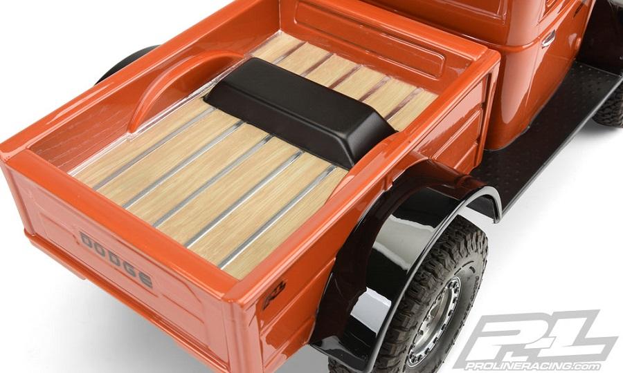 Pro-Line 1946 Dodge Power Wagon Clear Body