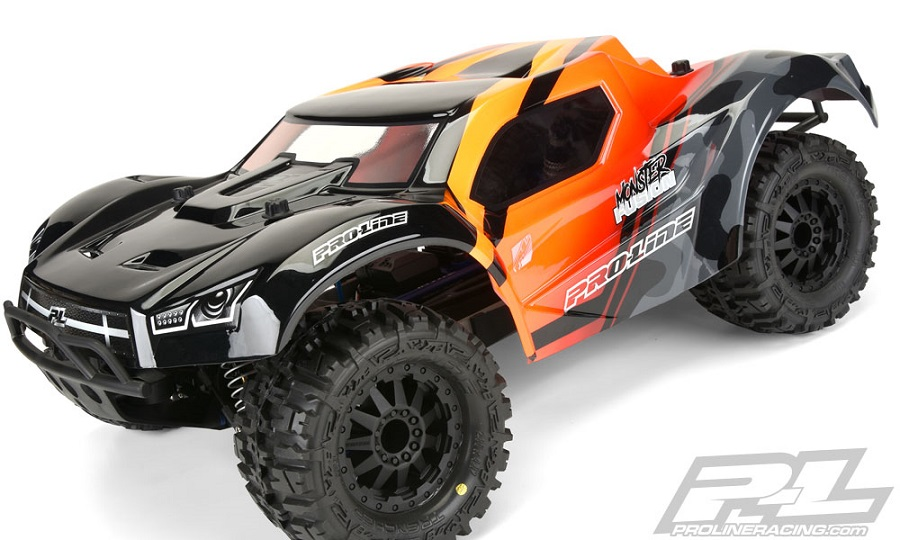 Pro-Line Pre-Cut Monster Fusion Clear Body