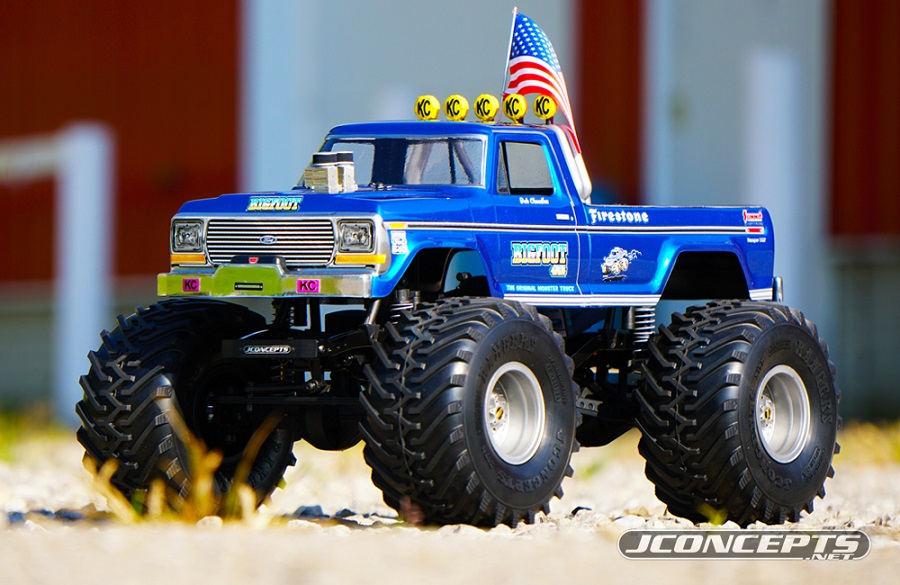 """Monster Truck Rc Cars >> JConcepts Rangers 2.2"""" Monster Truck Scale Tires - RC Car Action"""