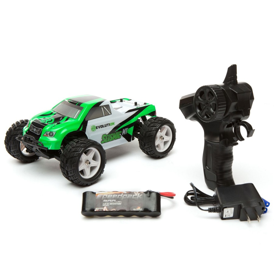 Rc Car Action: Revolution RTR Seismic 1/18 4wd Monster Truck