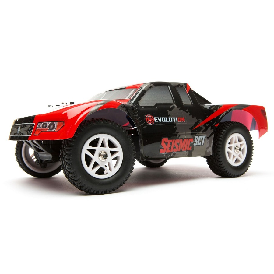 Rc Car Action: Revolution RTR Seismic 1/18 4wd Short Course Truck