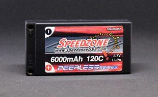 Speedzone 6000mAh 120C 1S LiPo