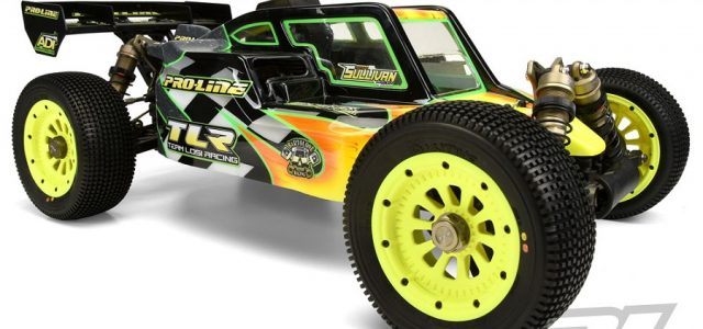 Pro-Line TLR 5ive-B Pre-Cut Elite Clear Body