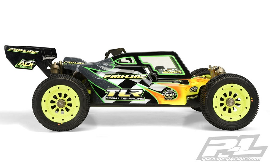 TLR 5ive-B Pre-Cut Elite Clear Body From Pro-Line