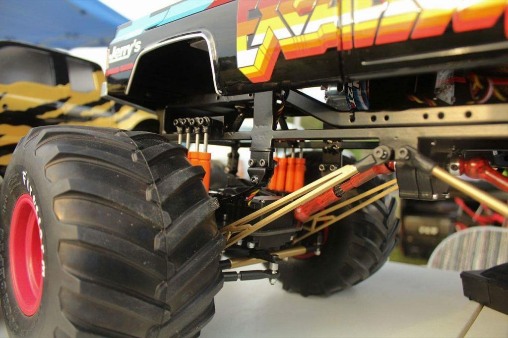 Monster Jam, Monster Truck, Excaliber, Tamiya Clod Buster, Juggernaut 2, Extreme RC, RC4WD, Freestyle RC, MIP, JConcepts, Traxxas