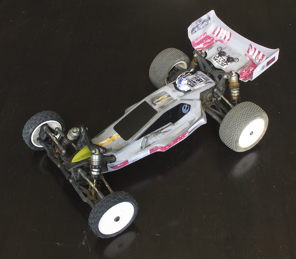 Star Wars, The Last Jedi, Team Losi Racing, TLR 22, buggy, X-Wing, Tamiya, Trinity,