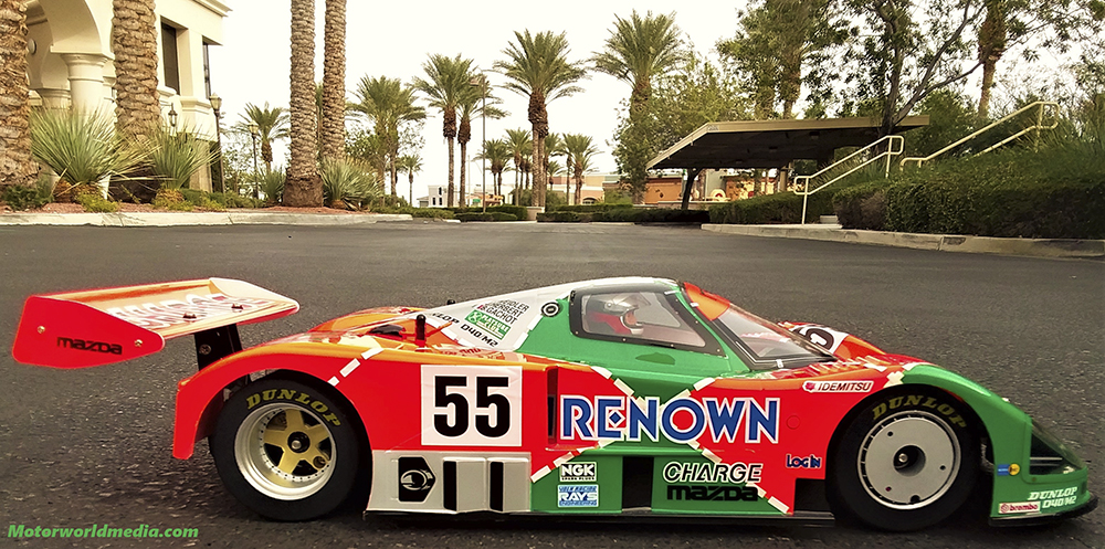 Tamiya Group C, Mazda 787B, Lunsford