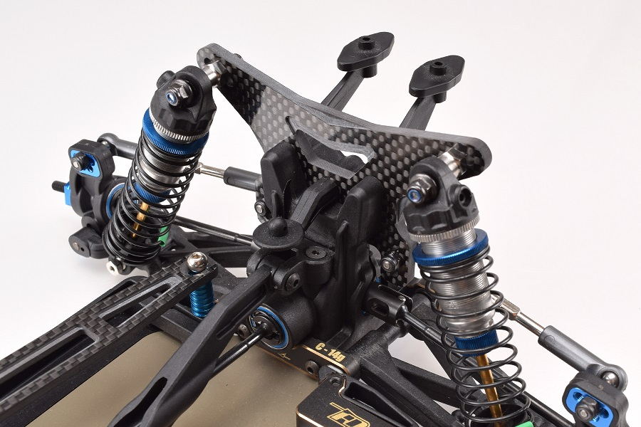 B64 Type B Carbon Fiber Shock Towers By RDRP