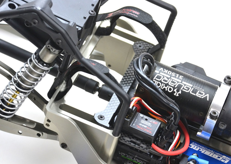 ExoTek HDX Chassis Set For The Axial Yeti