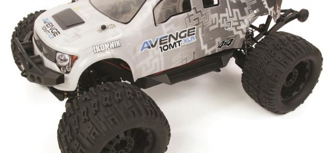 Helion Avenge 10MT XLR 1/10 4WD Monster Truck [VIDEO]