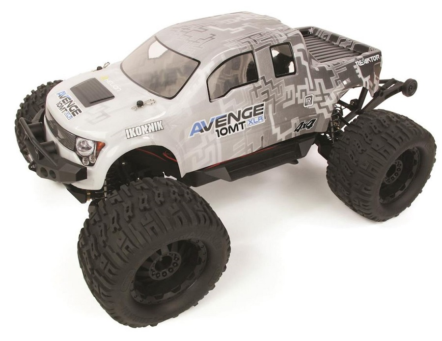 electric monster truck rc with Helion Avenge 10mt Xlr 110 4wd Monster Truck Video on Traxxas further Watch in addition Watch also New Bright 1 6 Ford F150 Raptor R in addition 2017 Ducati Scrambler Cafe Racer First Look Fast Facts.