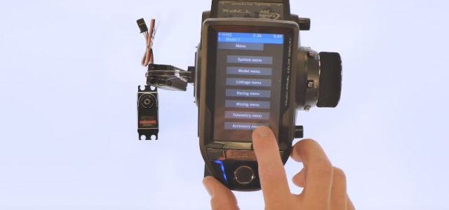 How To: Futaba 7PX Programming For S.Bus Servos [VIDEO]