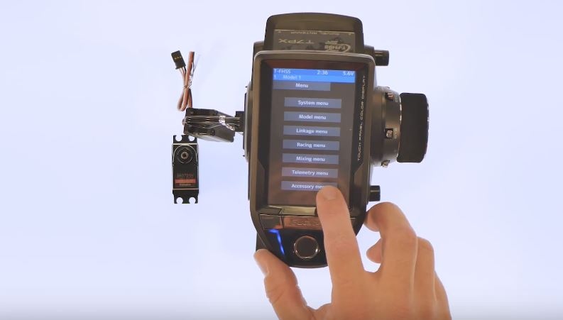 How To Futaba 7PX Programming For S.Bus Servos