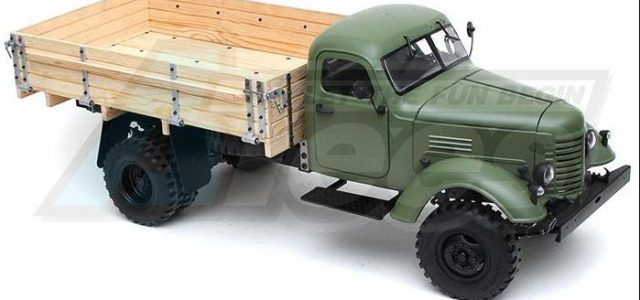 King Kong RC 1/12 CA10 Tractor Truck Kit [VIDEO]