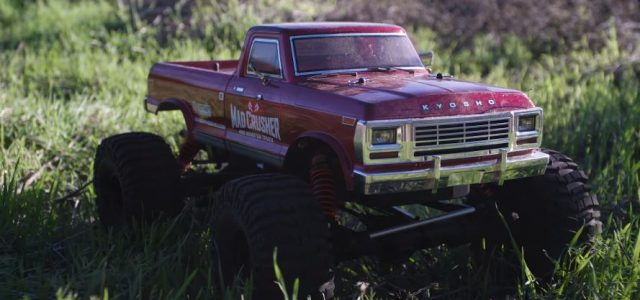Kyosho Mad Crusher GP 1/8 Nitro Monster Truck [VIDEO]