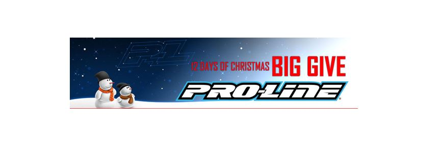 pro line s 12 days of christmas big give 2017   rc car action