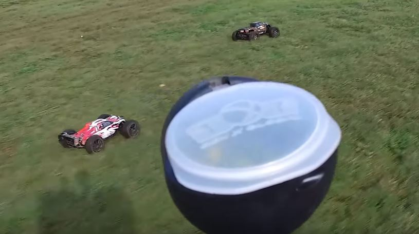 RC Cars Vs Paintballers