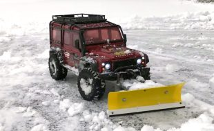 It's RC Snowplowing Season [VIDEO]
