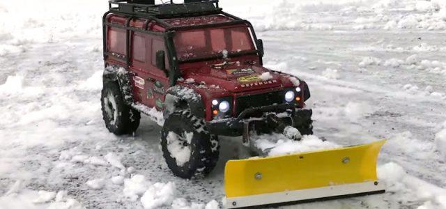 It's RC Snowplowing Season [VIDEO]