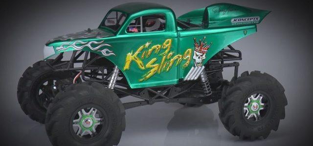 Teaser: JConcepts King Sling Ultimate Mega Truck [Video]