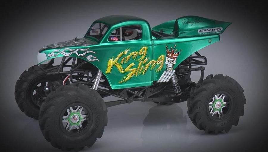 Teaser JConcepts King Sling Ultimate Mega Truck