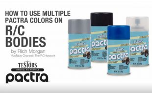 How to Use Multiple Pactra Colors on RC Bodies [SPONSORED BY TESTORS]
