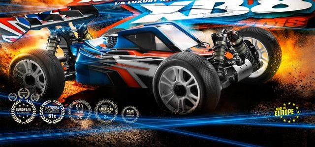 XRAY 2018 XB8 1/8 Nitro 4wd Buggy