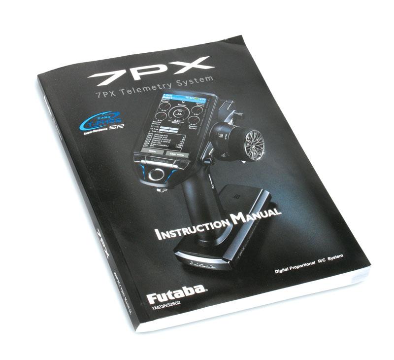 Futaba 7PX T-FHSS RC Radio - Instruction Manual