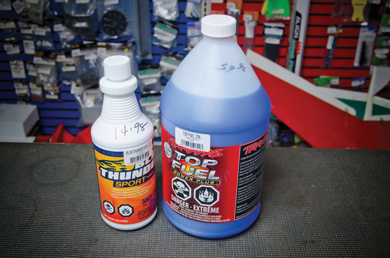 Getting started in RC - Nitro Fuel