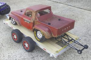 Traxxas Slash, RC Drag Race, Pro-Line, 1966 Ford Stepside, RPM, STRC, MIP, Castle Creations Mamba X, Sanford & Son