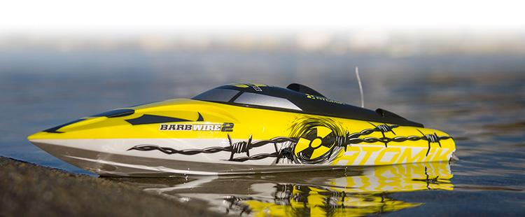 Atomik Barbwire 2 RTR Self-Righting Boat