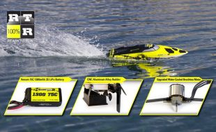 Atomik Barbwire 2 RTR Self-Righting Boat [VIDEO]