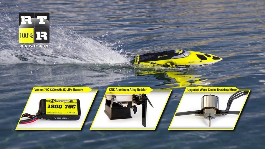 Atomik Barbwire 2 RTR Self-Righting Boat
