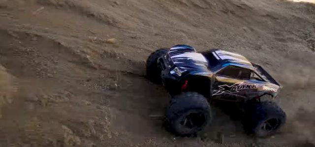 Dirt Domination With The Traxxas X-Maxx [VIDEO]