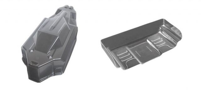 EB410 Lightweight Wing & Body From Tekno