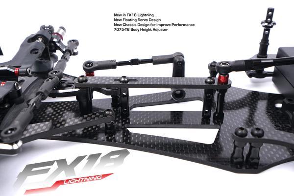 FX18 Lightning 1_10 Formula Car Kit From VBC Racing
