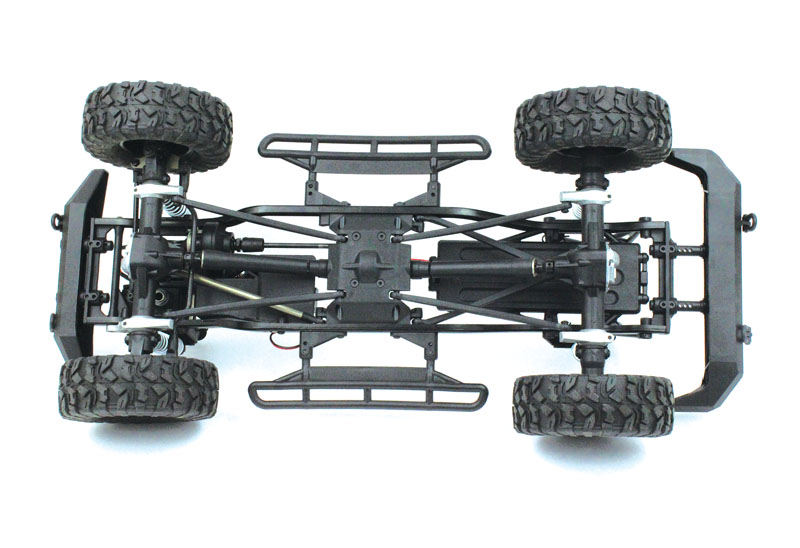 RC Review: HPI Venture FJ Cruiser - 3 link suspension