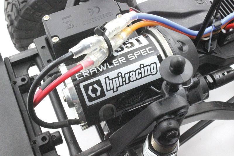 RC Review: HPI Venture FJ Cruiser - 35-Turn Brushed Power
