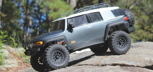 HPI  Venture FJ Cruiser [TESTED]