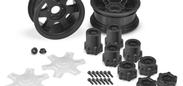 JConcepts Dragon 2.6″ 12mm Hex Wheel & Adaptors