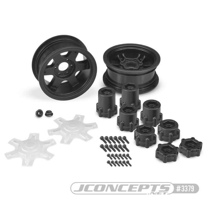 JConcepts Dragon 2.6 12mm Hex Wheel & Adaptors